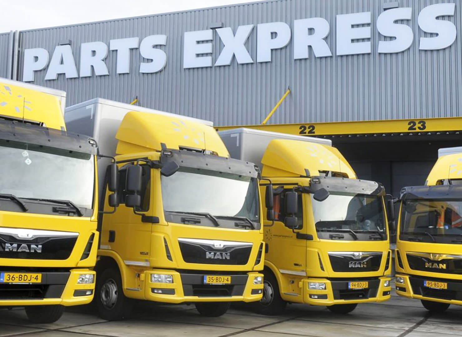 Parts Express levering - TTI Tyre Trading